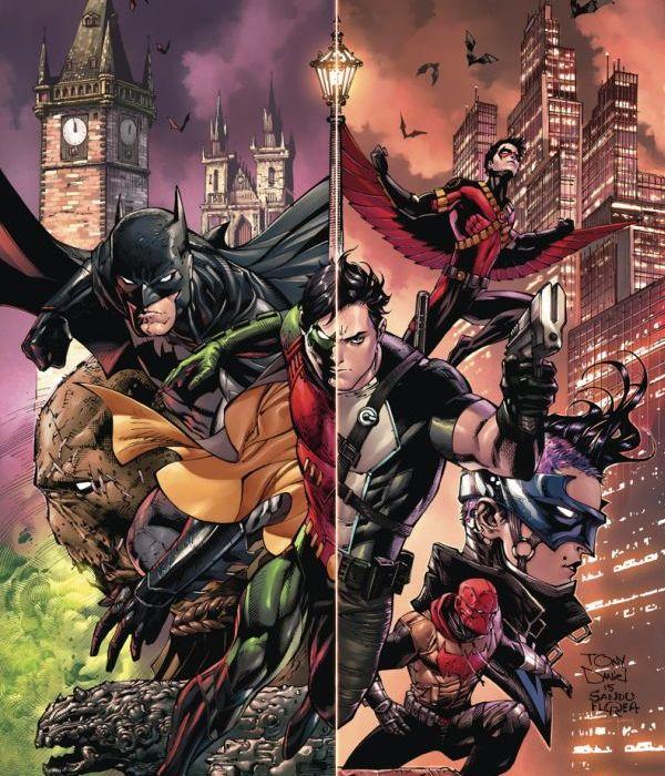 Batman and Robin Eternal #1 Cover