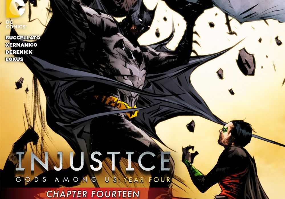 Injustice: Gods Among Us Year 4 #14 Cover