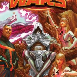 Secret Wars #4 Cover