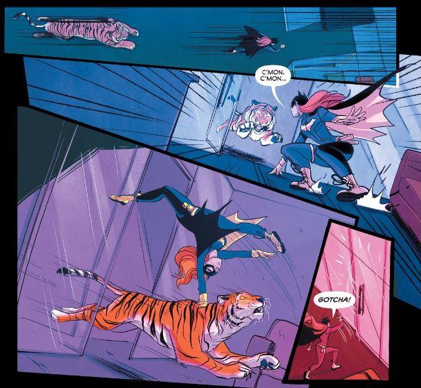 Batgirl 43 Tiger flip