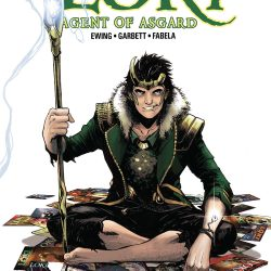 Loki Agent of Asgard #17 Cover