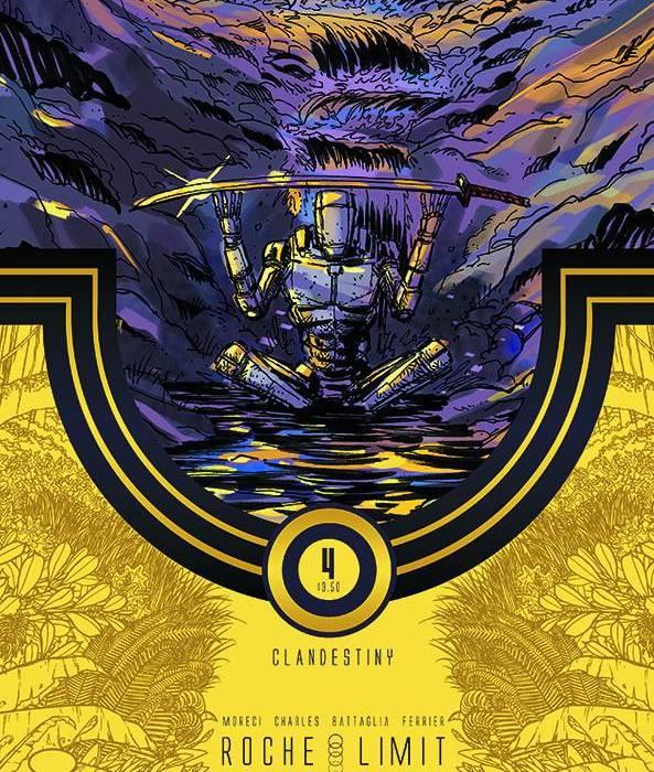 Roche Limit Clandestiny 4 Cover
