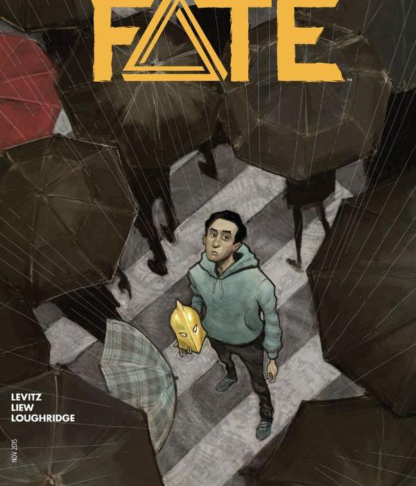 Doctor Fate 4 Cover