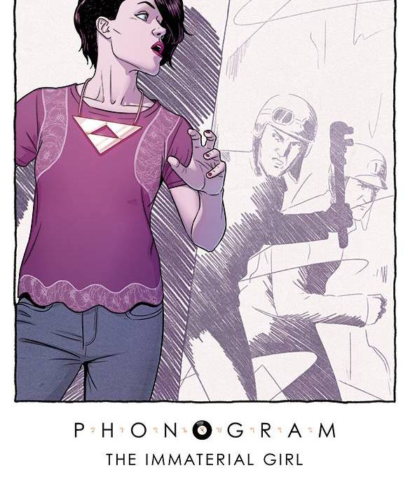 Phonogram The Immaterial Girl #2 Cover