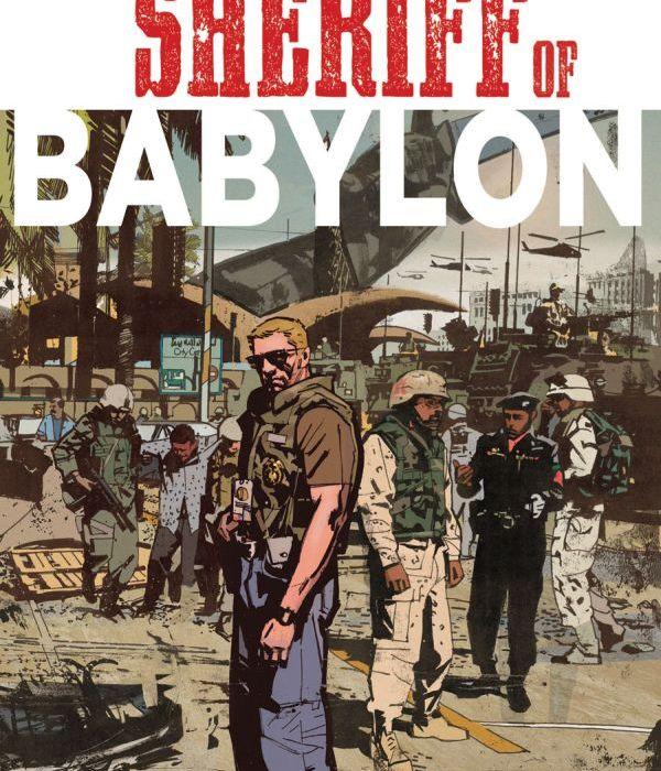 Sheriff of Babylon #1 Cover