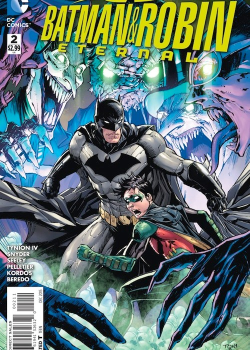 Batman and Robin Eternal #2 Cover