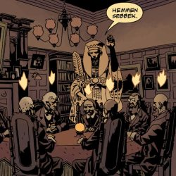 Hellboy: The Wild Hunt #8 (Feature Image: The Osiris Club)