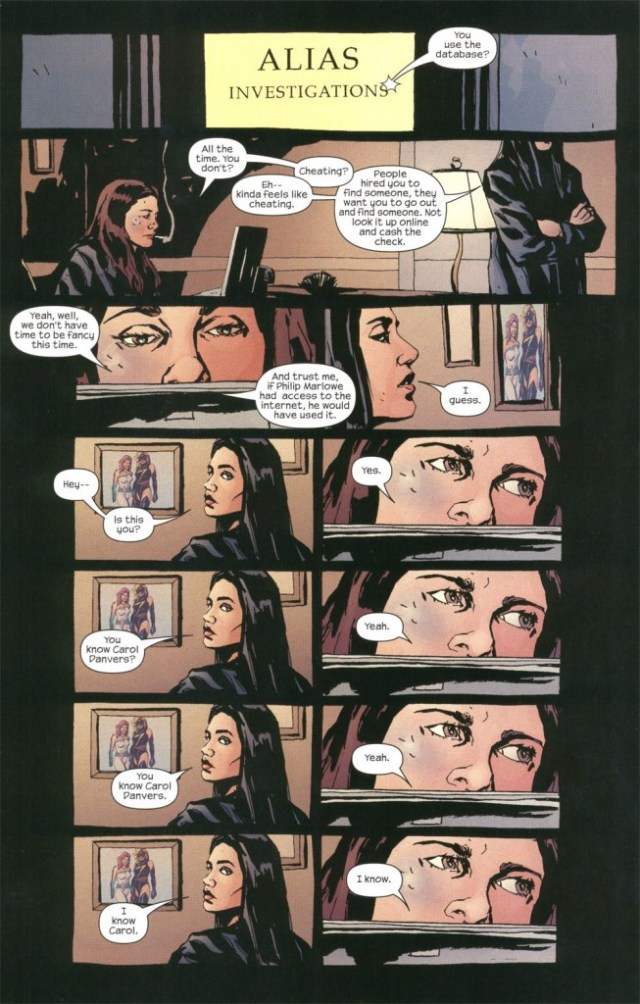 Alias Jessica Jones page Gaydos Bendis