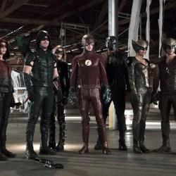 The Flash/Arrow Crossover 2015