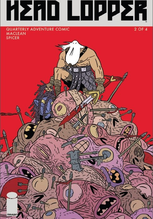 Head Lopper Issue 2 Cover