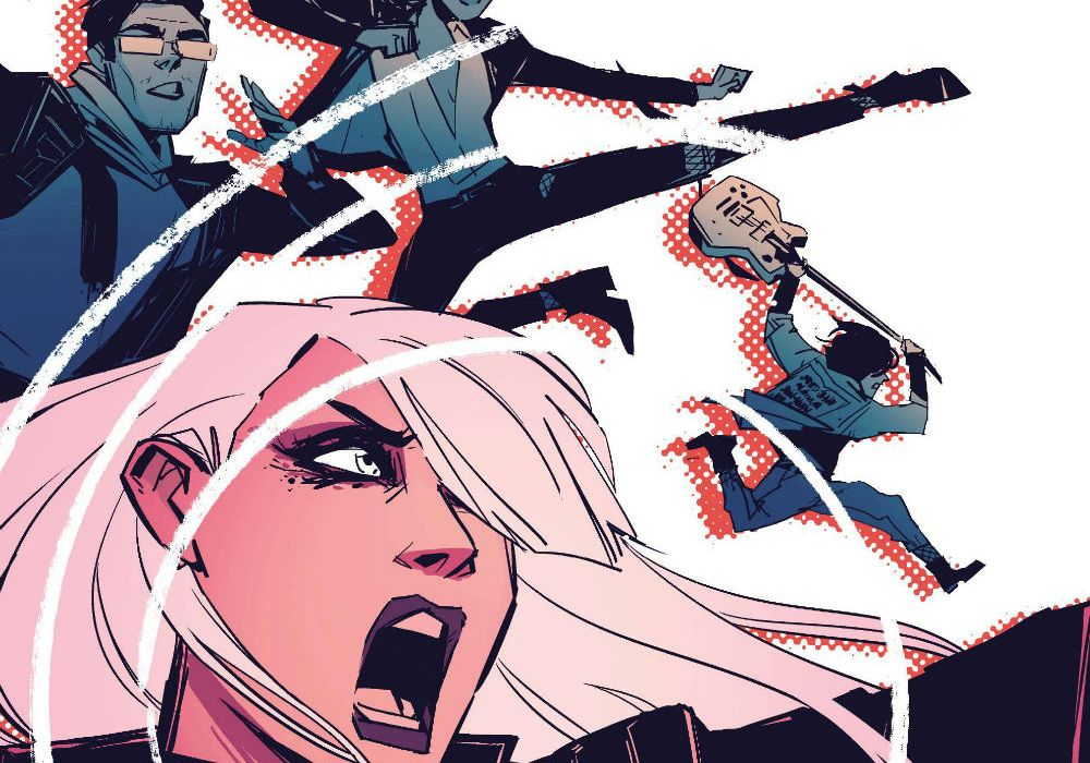 Black Canary #7 Cover Cropped