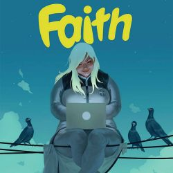 Faith #1 Cover Cropped
