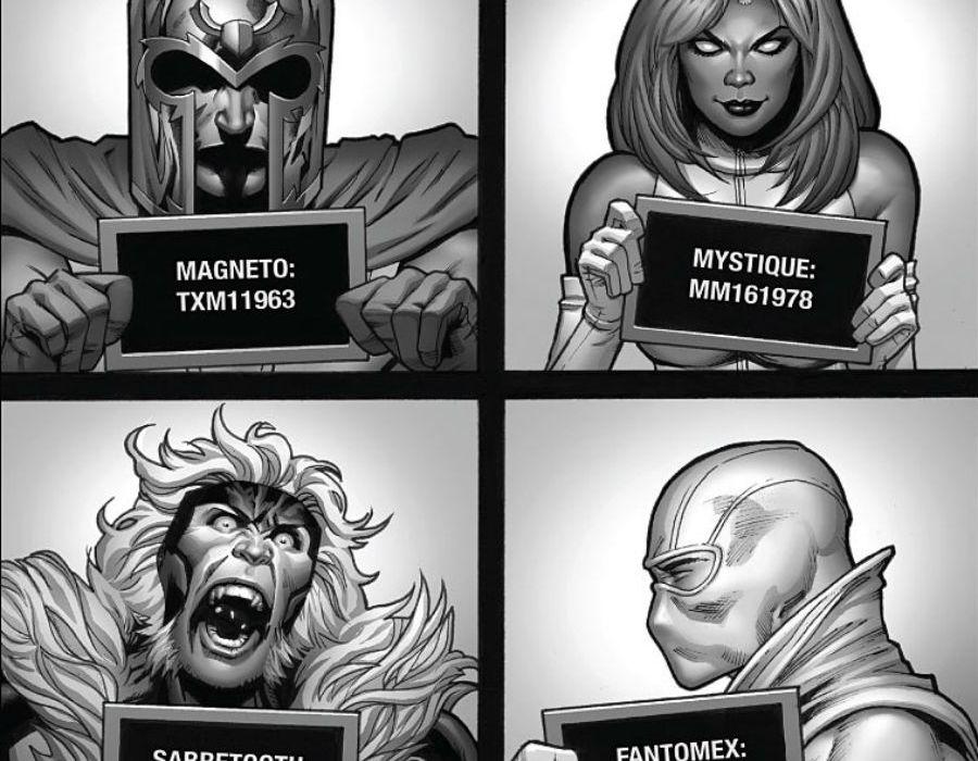 Uncanny X-Men Cropped