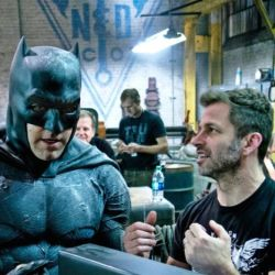 Ben Affleck and Zack Snyder