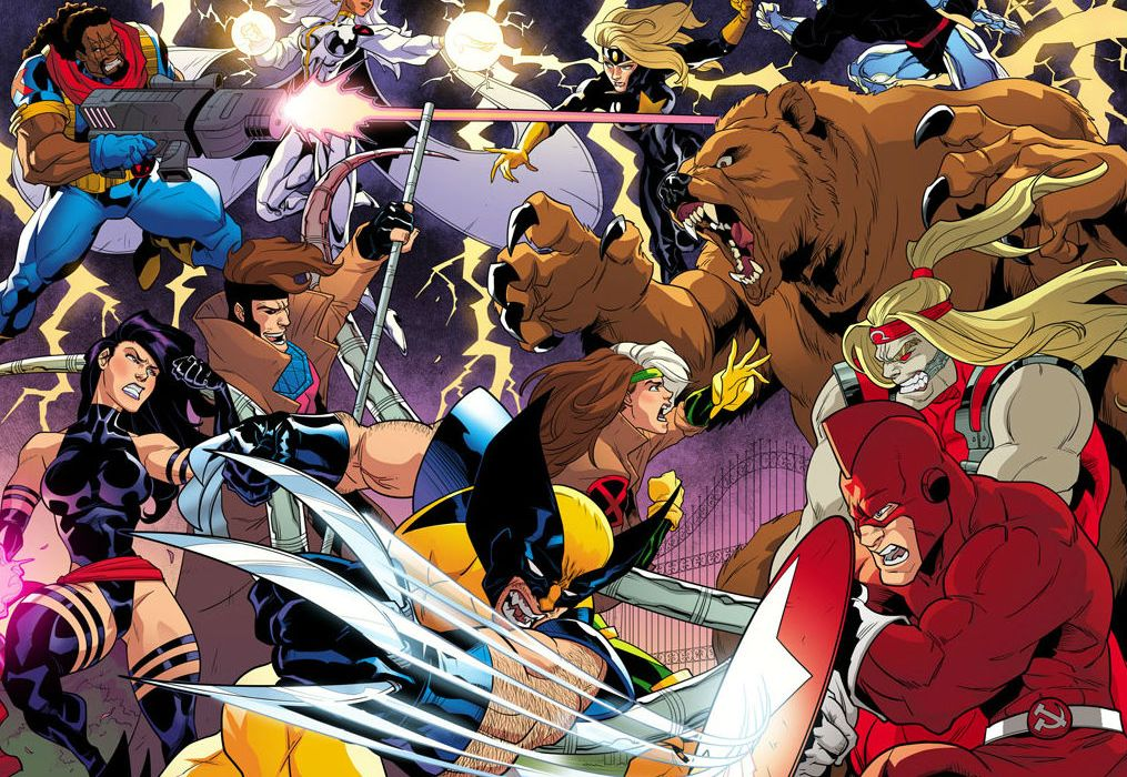 X-Men 92 Splash Fight Cropped