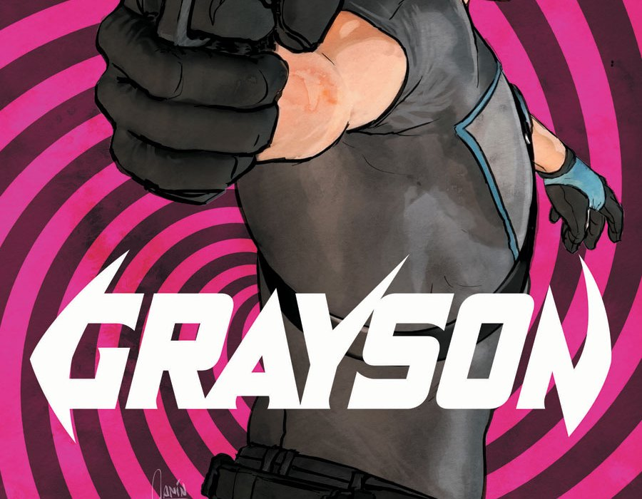 Grayson Annual #3 Cover