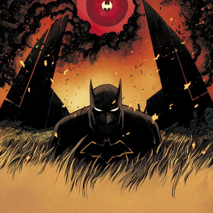 All-Star Batman #1 Cover Edit