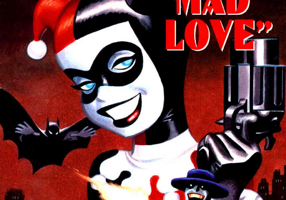 Mad Love Bruce Timm cover