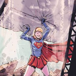 Supergirl Month: Michael Dialynas Featured