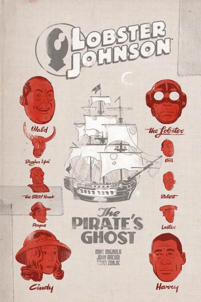 """""""Lobster Johnson: The Pirate's Ghost"""" #1 (cover)"""