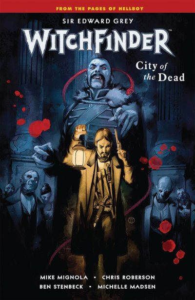 """Witchfinder – Volume 4: City of the Dead"" (cover)"