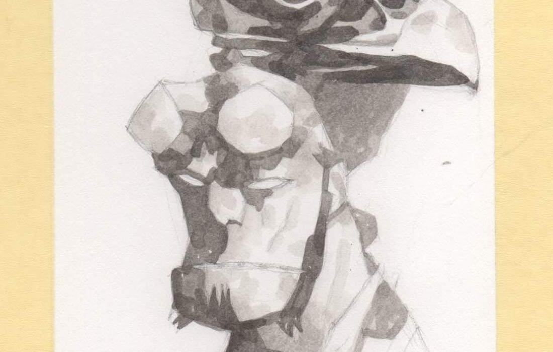 Feature: Hellboy in ink wash