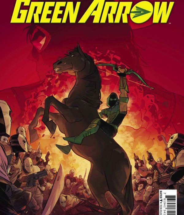 Green Arrow 19 Cover