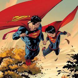 Superman and Superboy Lee Weeks