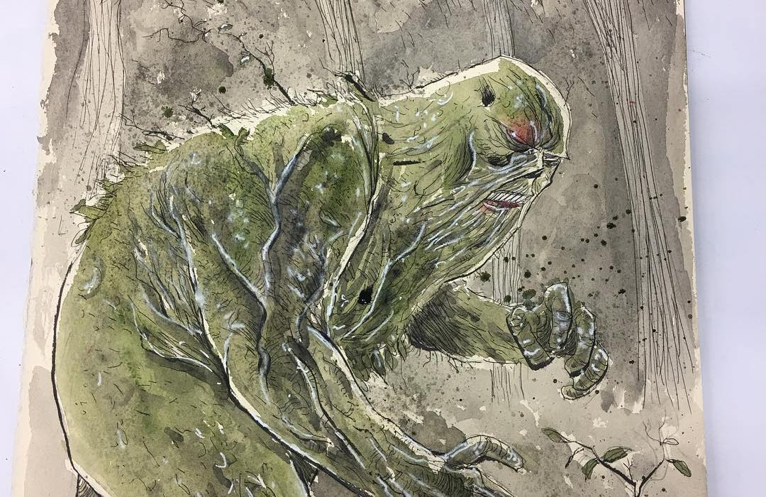 Swamp Thing Ben Templesmith