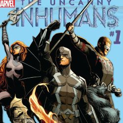 Uncanny Inhumans #1 Cover Edit