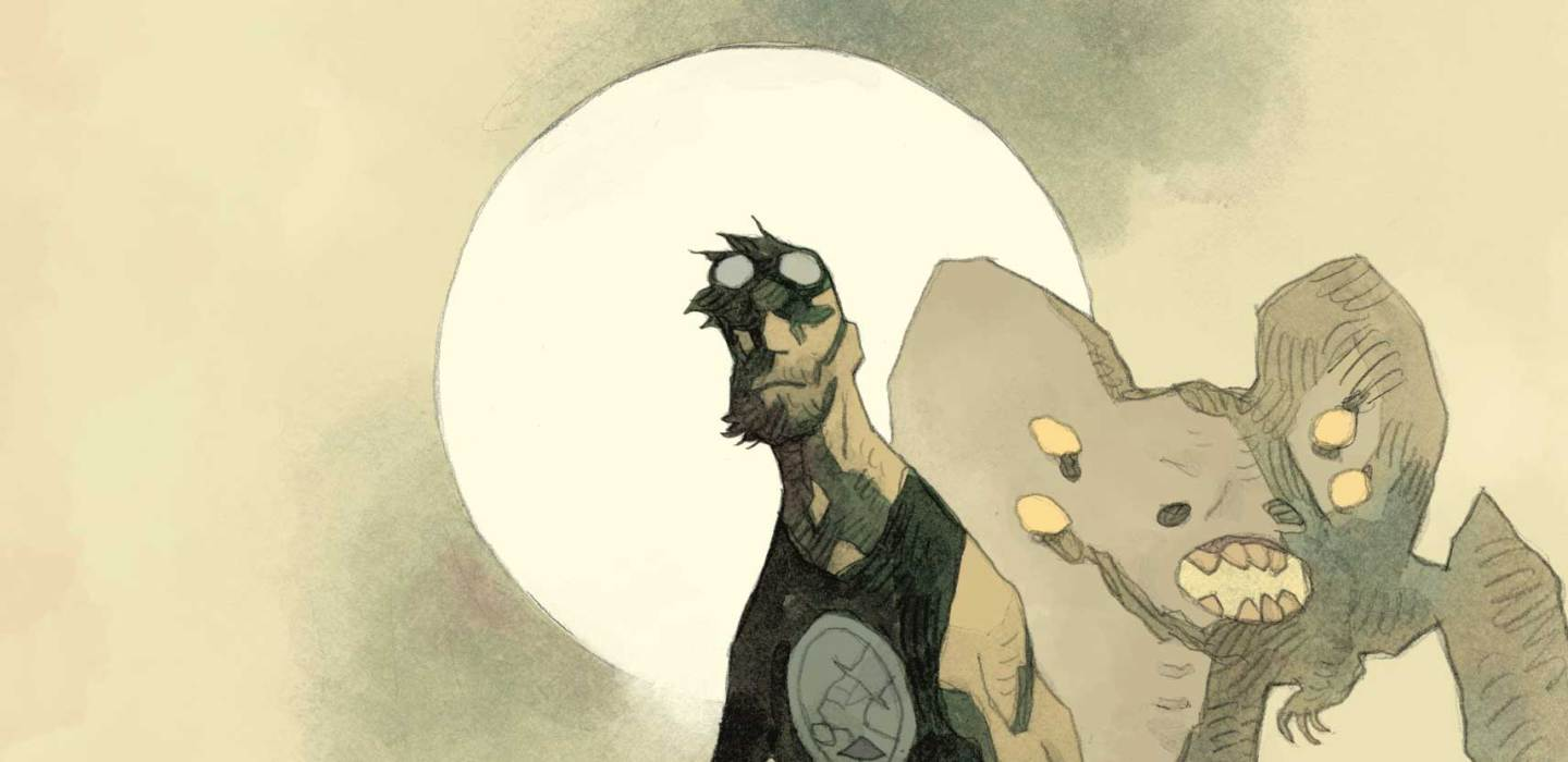 Feature: B.P.R.D. The Devil You Know #1 (Mignola cover)