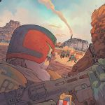 """""""Judge Dredd: The Blessed Earth"""" #1"""