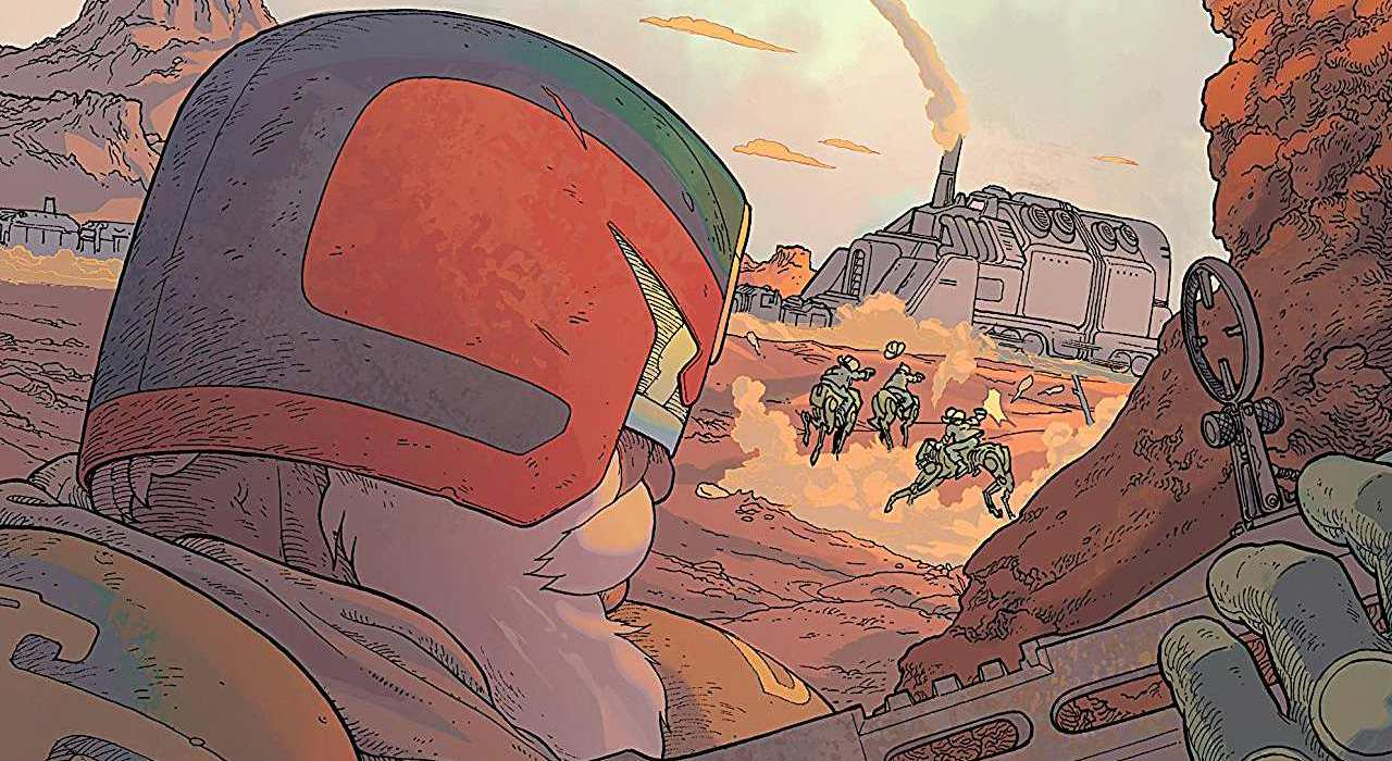 Judge Dredd The Blessed Earth #1 Featured Image