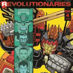 Revolutionaries #4 Featured