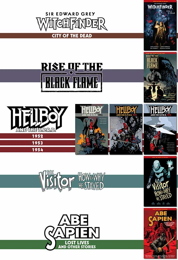 The Hellboy Universe Reading Order ― 2017 (Part 4)