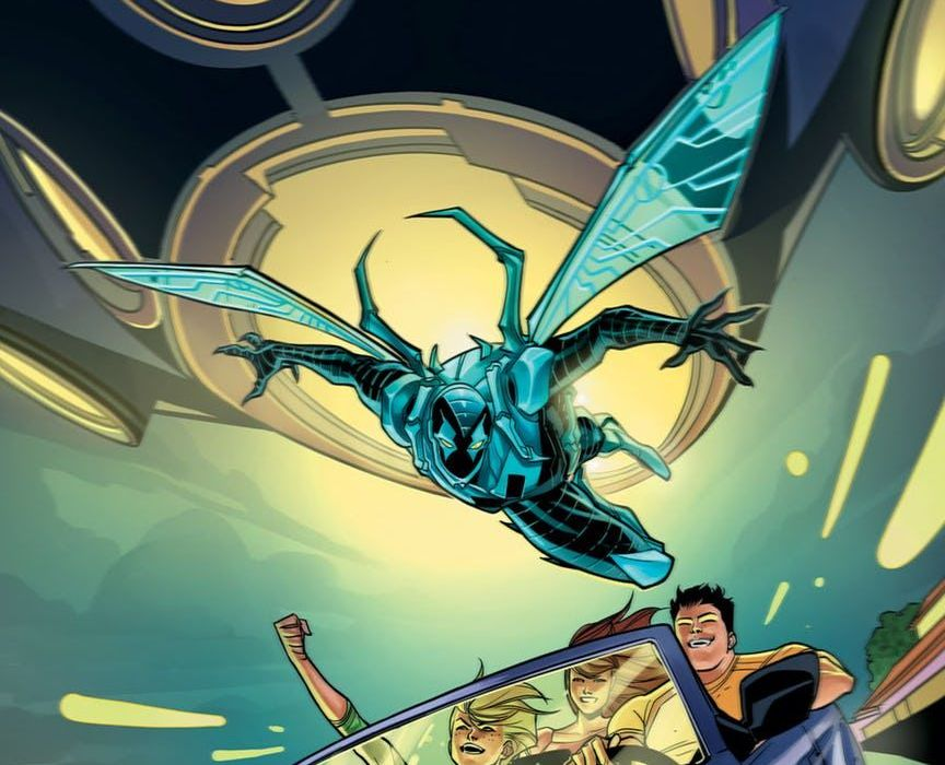 Blue Beetle 14 Featured