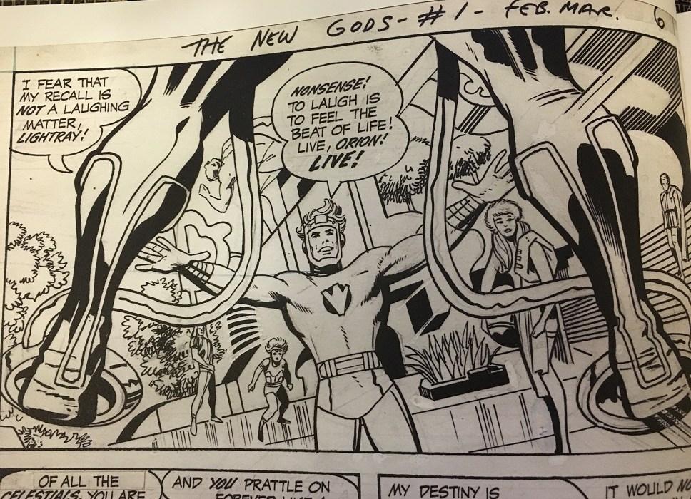 Jack-Kirby-New-Gods-Artist-Edition-Lightray