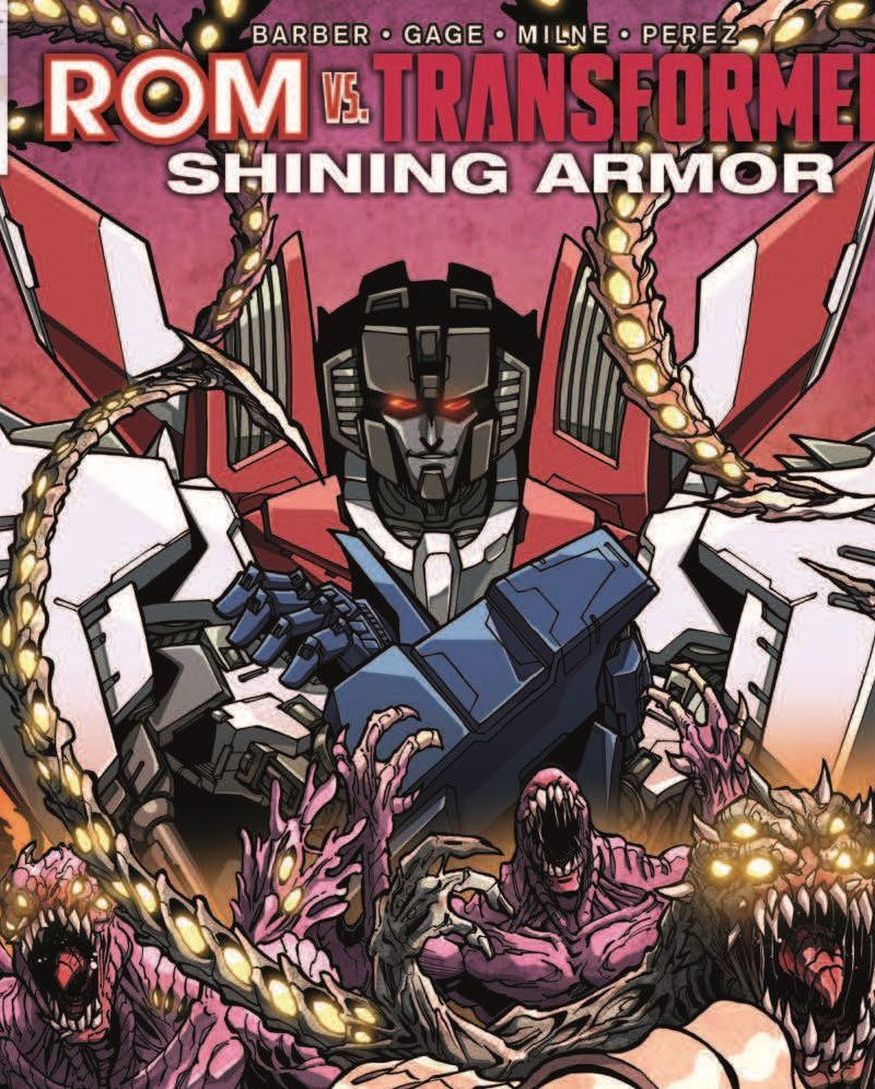Rom Vs. Transformers: Shining Armor #2 Featured