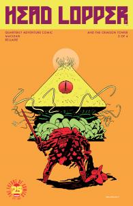 Head Lopper #7 – Deeper into the Strange (cover)