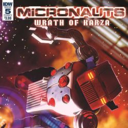 Micronauts Wrath of Karza 5 Featured