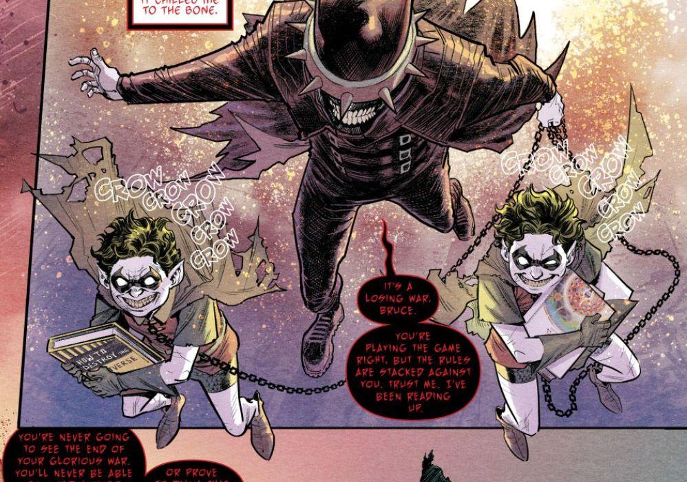 Batman the Merciless 1 SMP