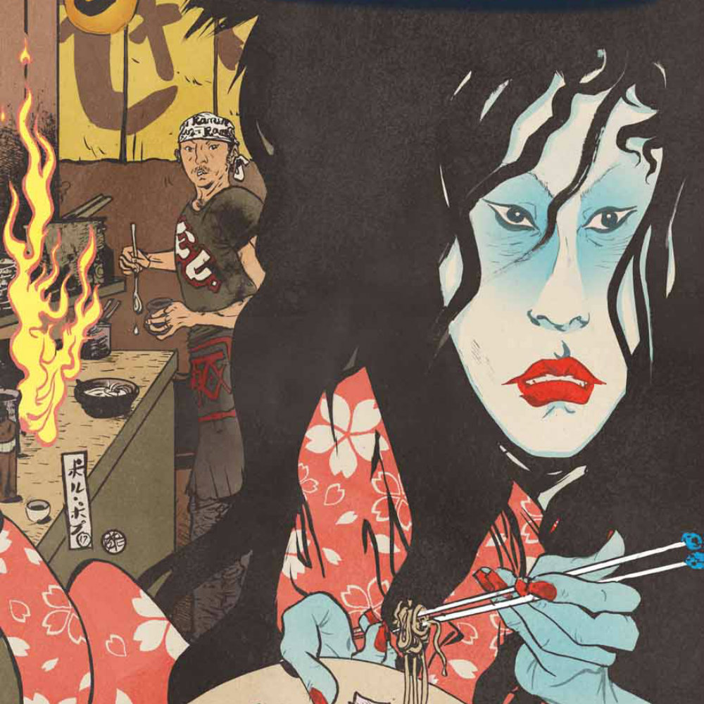 """Pick of the Week: """"Hungry Ghosts"""" #1 – Multiversity Comics"""