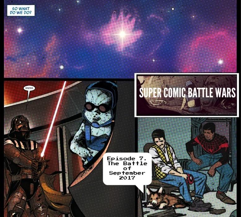 Super Comic Battle Wars #7