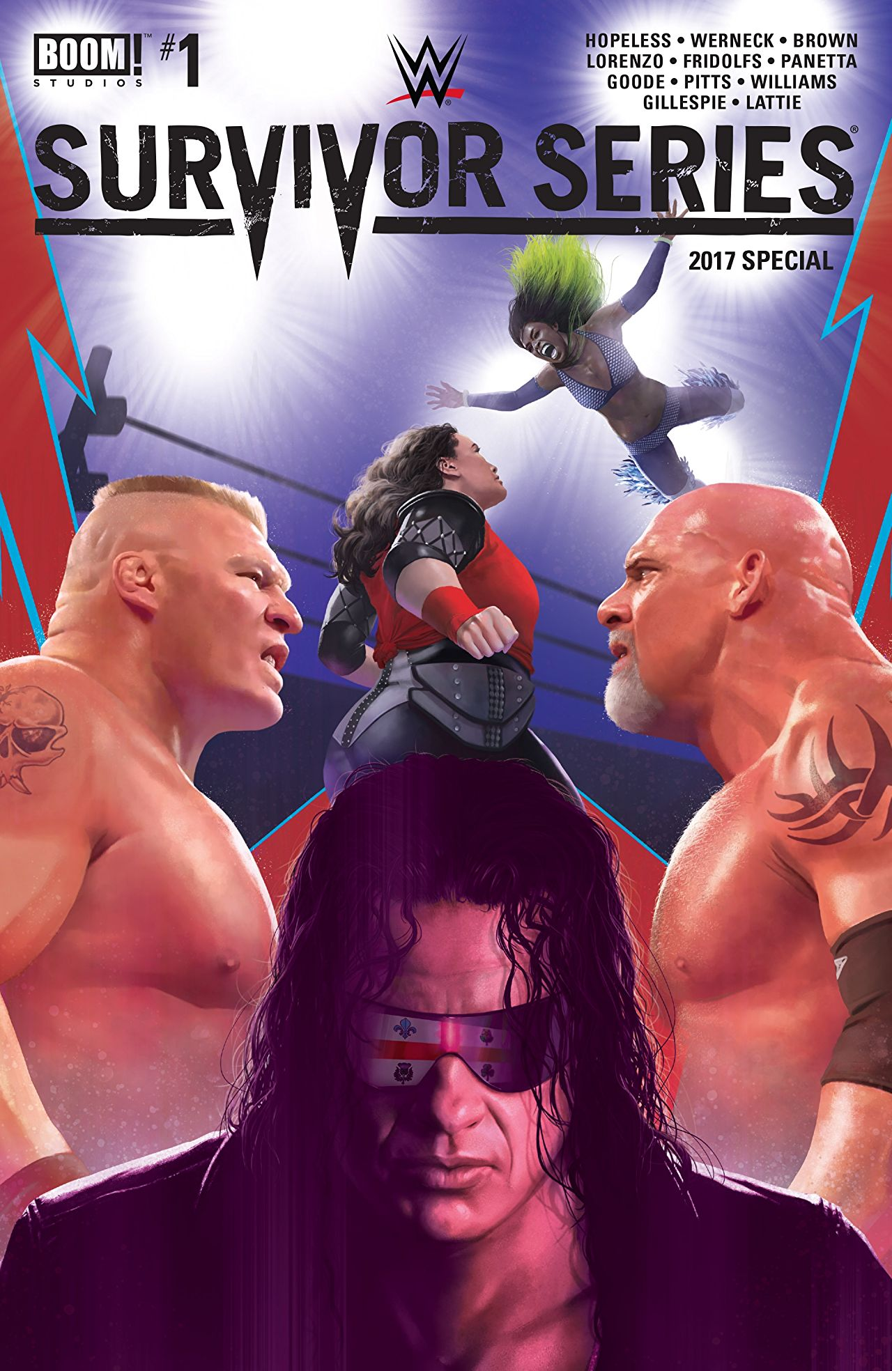 Wwe Survivor Series 2017 Special Multiversity Comics