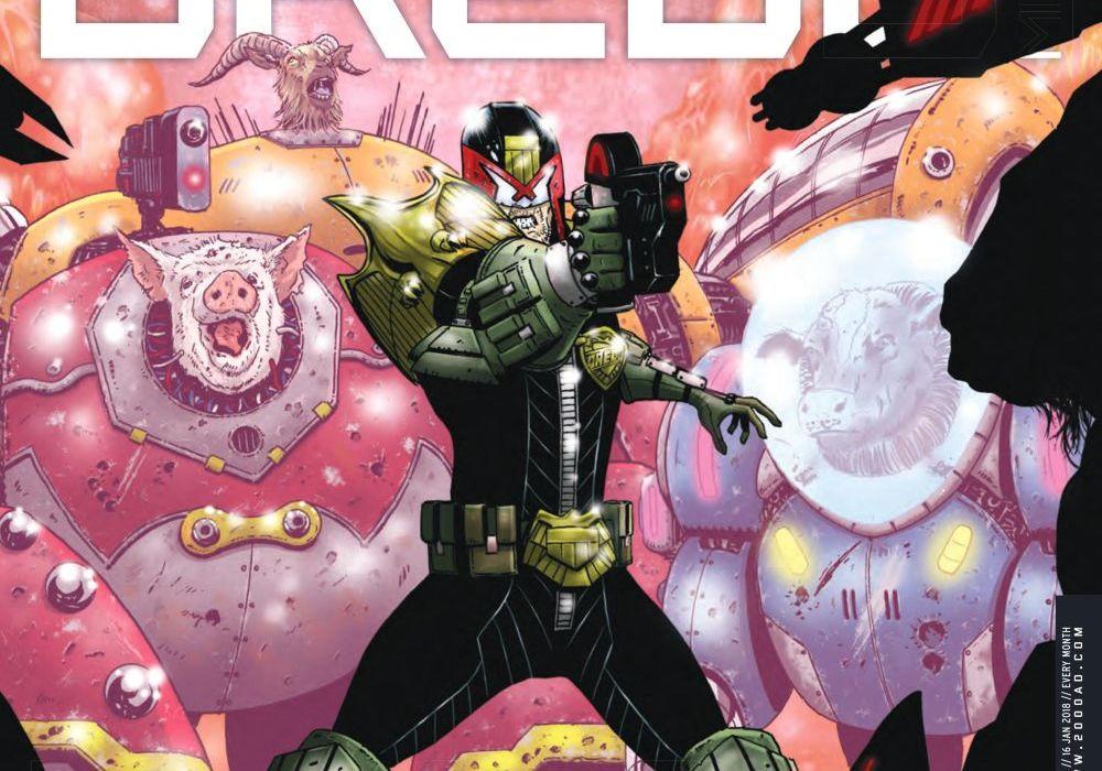 Judge Dredd Megazine 391 Featured