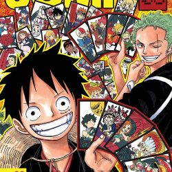 Weekly Shonen Jump January 8, 2018 Featured