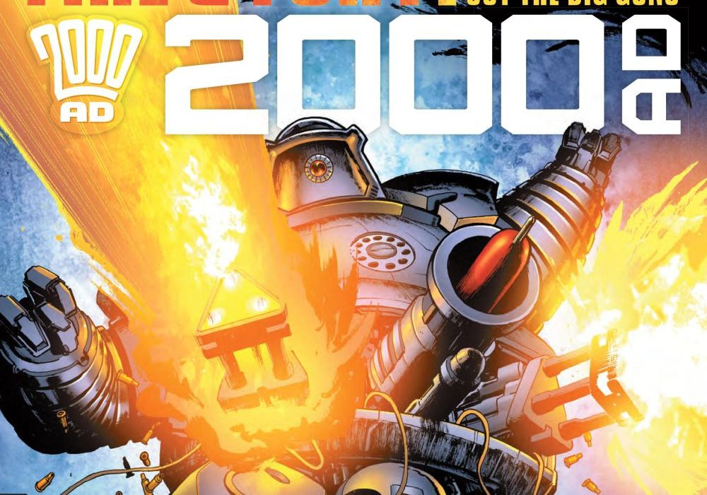 2000 AD Prog 2067 Fetured