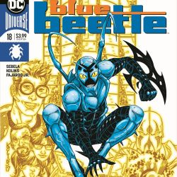 Blue Beetle #18 Featured