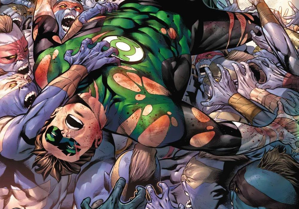 Hal Jordan and the Green Lantern Corps 38 Featured