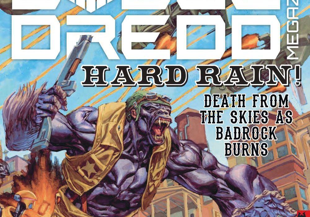 Judge Dredd Megazine 393 Featured